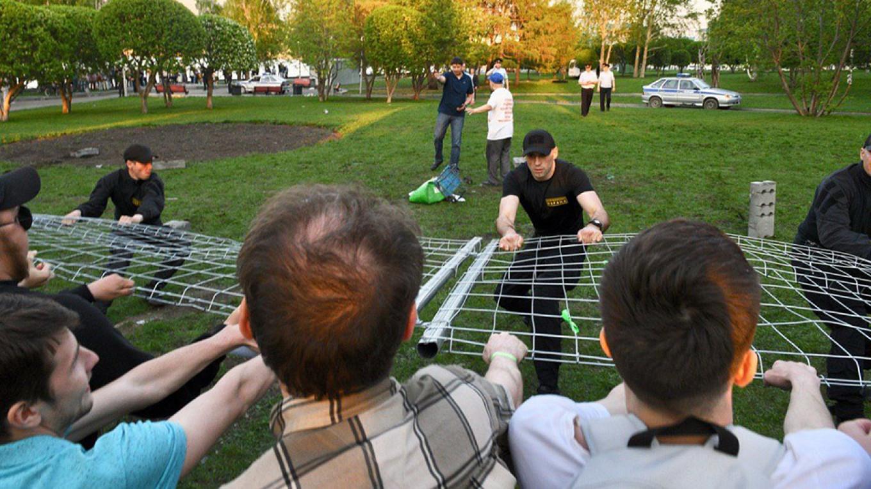 ეკატერინბურგში ცენტრალურ პარკში ეკლესიის აშენებას აპროტესტებენ