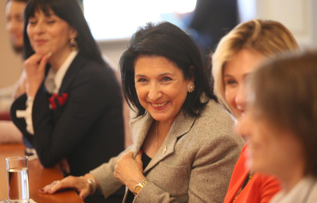 მე პირველი ქართველი ქალი პრეზიდენტი ვარ და მინდა ვიყო იმ საქართველოს პრეზიდენტი, რომელიც სრულად იქნება ევროპაში ინტეგრირებული - ზურაბიშვილი