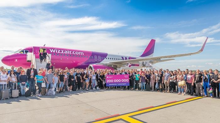 200 მლნ გადაყვანილი მგზავრი 15 წლის მანძილზე - დღეს Wizz Air-ი იუბილარია