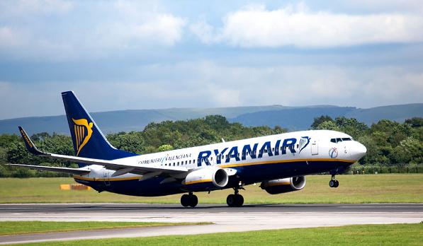 Ryanair-ი ევროპის ქვეყნებიდან ქუთაისისა და თბილისის მიმართულებით იფრენს