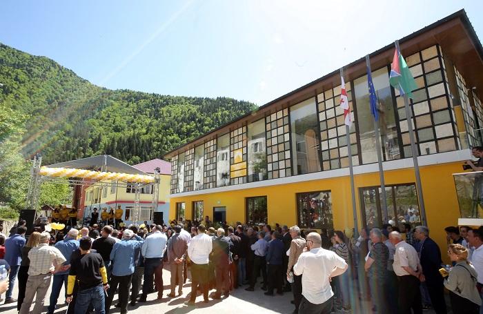 იუსტიციის მინისტრმა შუახევში 65-ე საზოგადოებრივი ცენტრი გახსნა