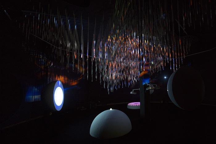 """თიბისი არტ გალერეში მულტიმედია ხელოვნების პროექტის - """"GAMMA"""" პრეზენტაცია შედგა"""