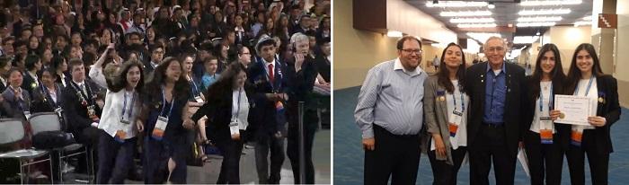 სტუ-ის საინჟინრო ფიზიკის დეპარტამენტის მოსწავლე გოგონები  კონკურს Intel ISEF-2019-ის გამარჯვებულები გახდნენ