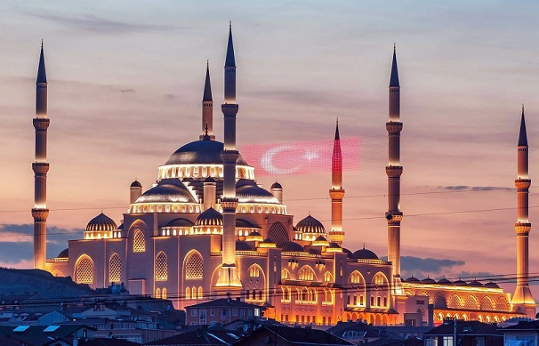 სტამბოლში გახსნეს თურქეთის ყველაზე დიდი მეჩეთი | ფოტო