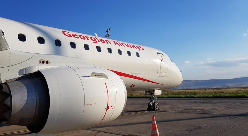 Georgian Airways-ი სეზონურ ჩარტერულ რეისებს შეასრულებს