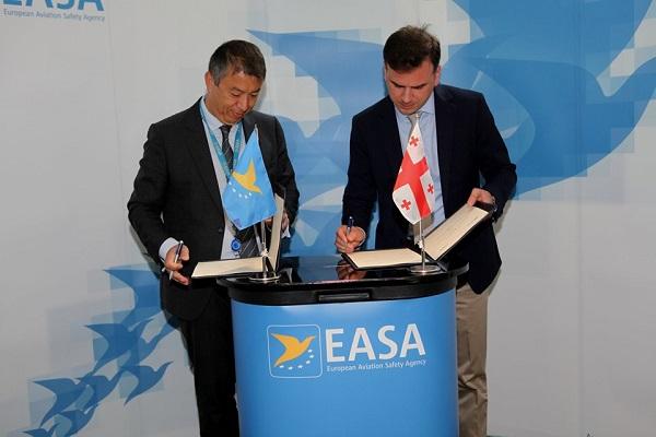 EASA-სა დაGCAA-ს შორის ახალი სამუშაო შეთანხმება გაფორმდა