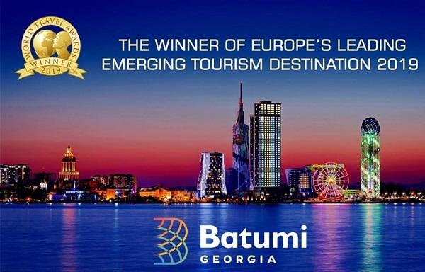 ბათუმმა World Travel Awards-ის ევროპის მზარდი ტურისტული მიმართულების ტიტული მოიპოვა