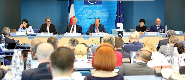 """საქართველოს, საფრანგეთის, მონაკოსა  და ალბანეთის იუსტიციის მინისტრებმა """"GRECO""""-ს 20 წლის იუბილის აღსანიშნავი მაღალი დონის კონფერენცია გახსნეს"""