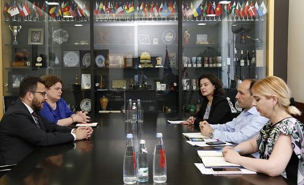 ლევან დავითაშვილი IFAD-ის პროგრამების ხელმძღვანელს შეხვდა