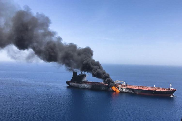 """მაიკ პომპეო ომანის ყურეში ტანკერებზე """"აშკარა თავდასხმაში"""" ირანს ადანაშაულებს"""