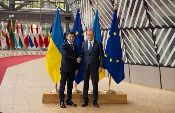 ზელენსკი მოუწოდებს ევროკავშირს, გააძლიეროს სანქციები რუსეთის მიმართ