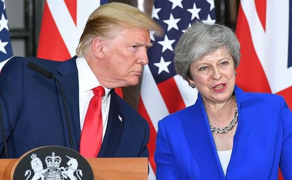 ბრექსიტი უნდა მოხდეს... ბრიტანეთი დიდებული, დიდებული ქვეყანაა და მას სურს იდენტობის შენარჩუნება - ტრამპი