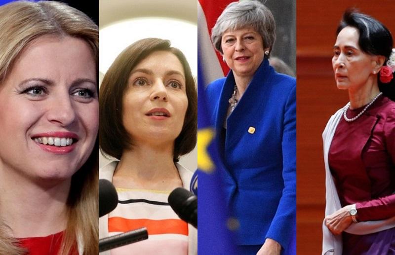 მსოფლიოს 25 ლიდერი ქალი | ფოტო