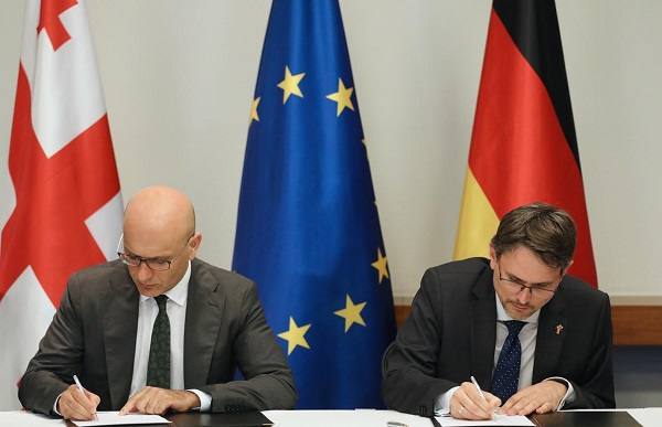 ენერგეტიკისა და განათლების სექტორში საქართველოსა და გერმანიის მთავრობებს შორის ფინანსური ხელშეკრულებები გაფორმდა