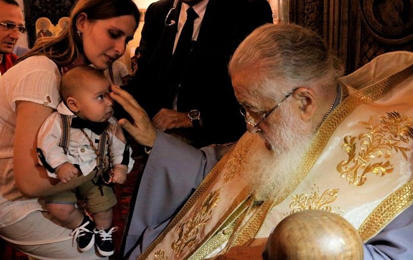 იწყება საქართველოს კათოლიკოს-პატრიარქის ილია II-ის მიერ საყოველთაო ნათლობის 59-ე ეტაპი