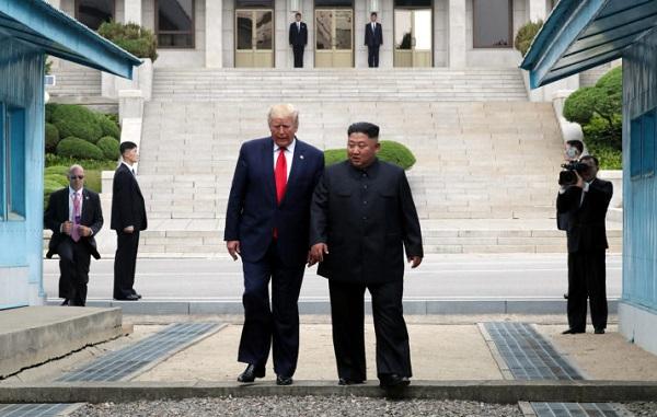 ტრამპი აშშ-ის პირველი პრეზიდენტია, რომელმაც ჩრდილოეთ კორეის მიწაზე დადგა ფეხი