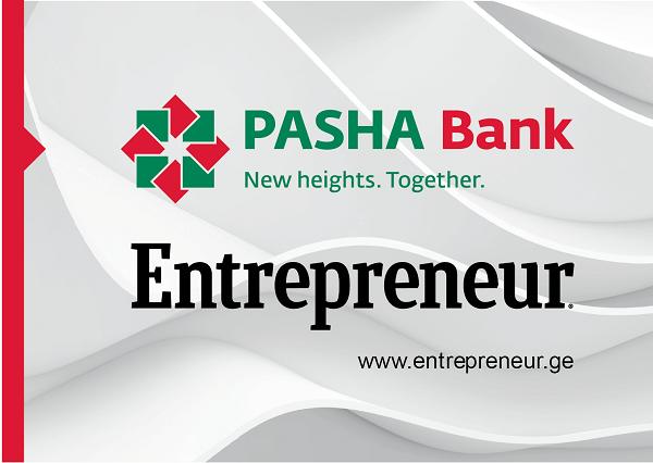 პაშა ბანკი ჟურნალის Entrepreneur საიტის პრეზენტაციას გაუწევს სპონსორობას