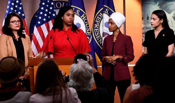 დონალდ ტრამპი კონგრესმენ ქალებს თავს კვლავ ესხმის