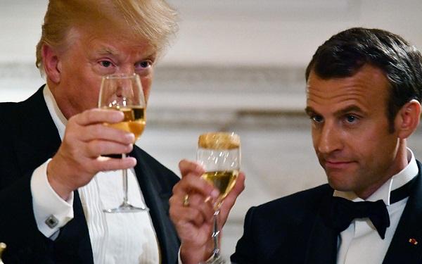 ყოველთვის ვამბობდი, რომ ამერიკული ღვინო ფრანგულ ღვინოზე უკეთესია - დონალდ ტრამპი