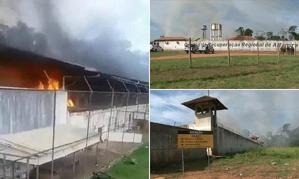 ბრაზილიის ციხეში, ამბოხებულებმა 16 მსჯავრდებულს თავი მოკვეთეს, დაიღუპა 57 | ვიდეო