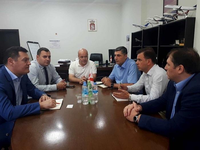საავიაციო ხელისუფლების წარმომადგენლებმა ქართული ავიაკომპანიების მენეჯმენტთან სამუშაო შეხვედრა გამართეს