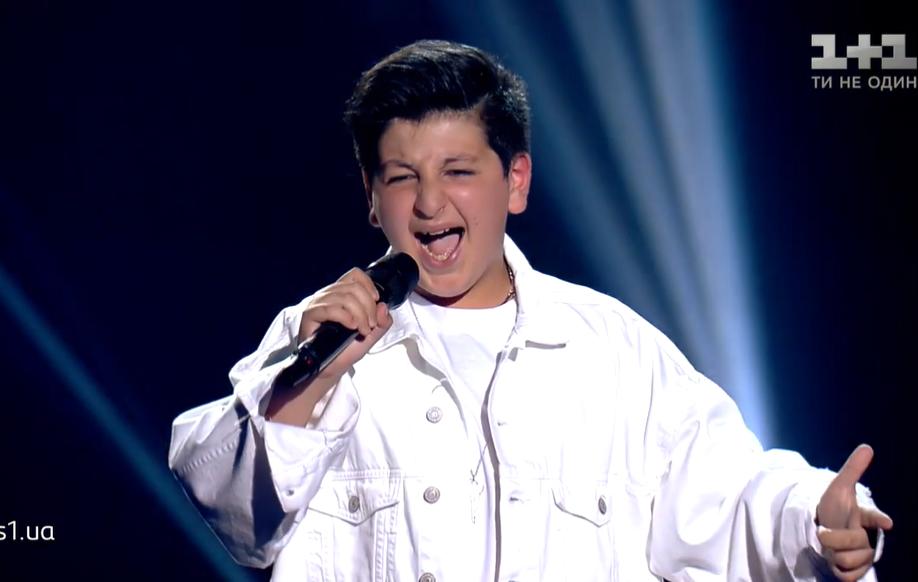 ალექსანდრე ზაზარაშვილმა უკრაინის საბავშვო Voice-ი მოიგო