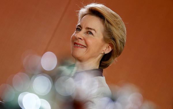 ევროკომისიის ახალი პრეზიდენტი შესაძლოა გერმანიის თავდაცვის მინისტრი გახდეს