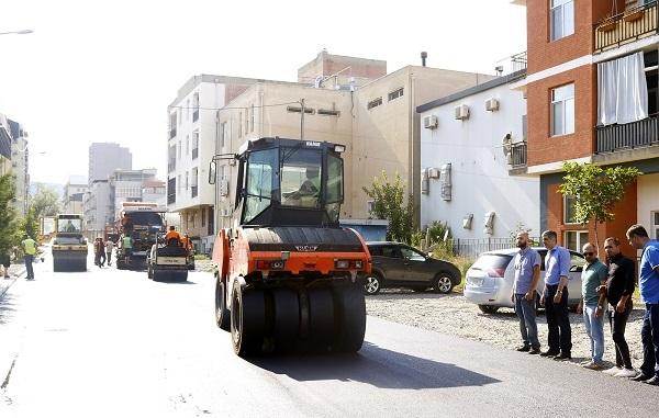 დიდ დიღომში სტრაბონის და ნიკო ბურის ქუჩების საგზაო ინფრასტრუქტურული პროექტები მიმდინარეობს