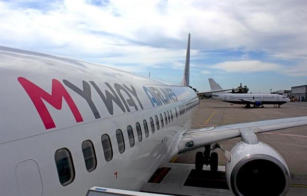 Myway Airlines-ს ევროკავშირის ბაზარი ჩაეკეტა და შესაძლოა,ისრაელის მიმართულებით რეისები შეეზღუდოს