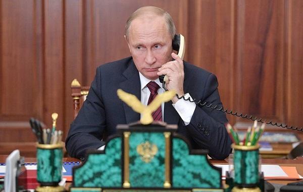პუტინსა და ზელენსკის შორის სატელეფონო საუბარი შედგა