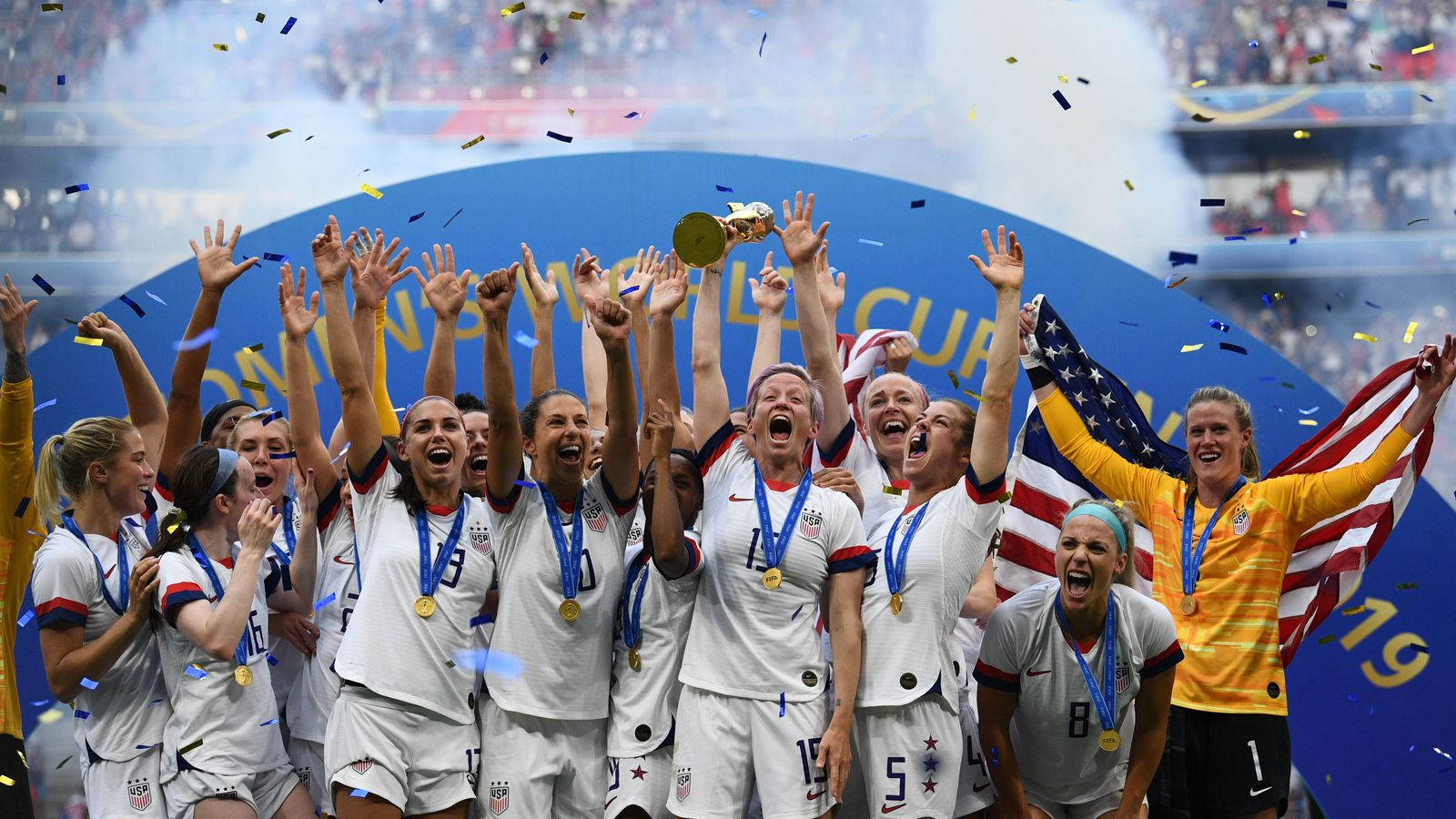 აშშ ქალთა ფეხბურთში მსოფლიო ჩემპიონია - შტატების ისტორიული ტრიუმფი საფრანგეთში