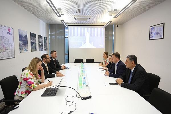 სამოქალაქო ავიაციის სააგენტოსა და საქაერონავიგაციის ადმინისტრაციის წარმომადგენლები IATA-ს ევროპის რეგიონის დელეგაციას შეხვდა