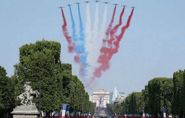 საფრანგეთში ეროვნულ დღესასწაულს ზეიმობენ