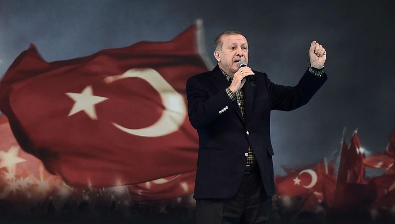 თურქეთი ყველა ქვეყნის წინააღმდეგია, რომელიც ისრაელს უჭერს მხარს - ერდოღანი