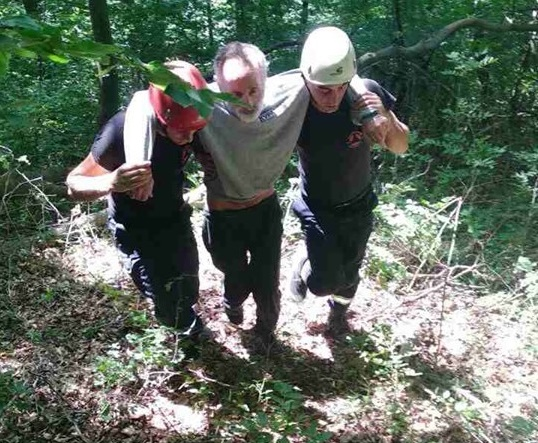 ტყეში დაკარგული 66 წლის მამაკაცი მაშველებმა იპოვეს