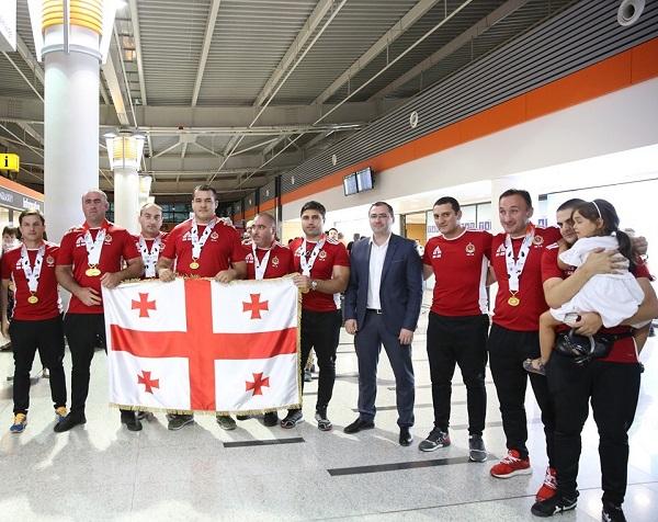 შსს-ს თანამშრომლებმა საერთაშორისო ტურნირში 9 ოქროს მედალი მოიპოვეს