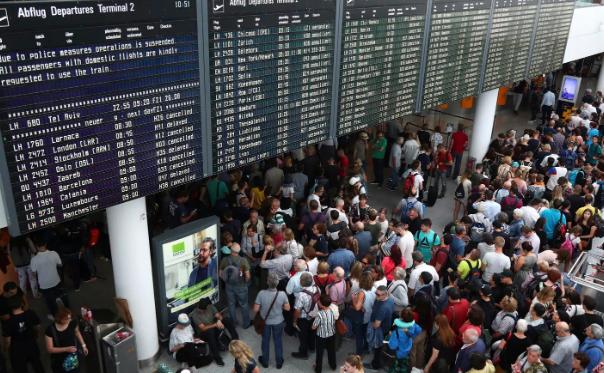 მიუნხენის აეროპორტში, 1 მგზავრის შემთხვევითმა ქმედებამ 200-მდე ფრენის გაუქმება და 5000-მდე ადამიანის დაყოვნება გამოიწვია