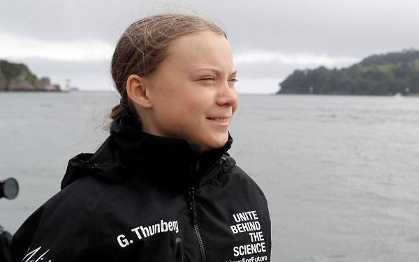 ეკოაქტივისტმა გრეტა ტუნბერგმა ატლანტის ოკეანე იალქნიანი ნავით გადაკვეთა