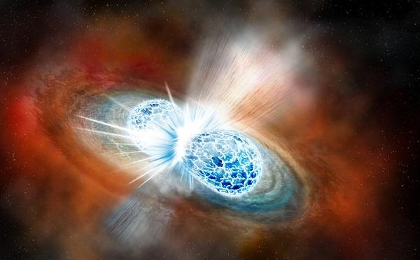 ნეიტრონული ვარსკვლავების შეჯახების შედეგად კოსმოსში დიდი რაოდენობით ოქრო წარმოიქმნა