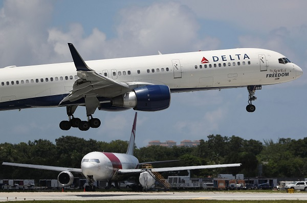 Delta Air Lines-ისBoeing 757-მა აზორის კუნძულებზე უხეშად დაფრენაგანახორციელა