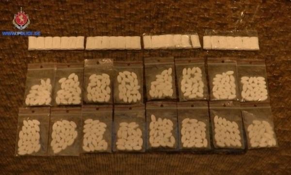 პოლიციამ სამეგრელოში განსაკუთრებით დიდი ოდენობით ნარკოტიკი ამოიღო