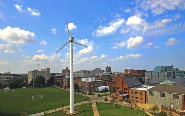 კლივლენდი, რომელიც ჰაერის დაბინძურებით აშშ-ში ლიდერობს, 2050 წელს მხოლოდ განახლებად ენერგიას გამოიყენებს