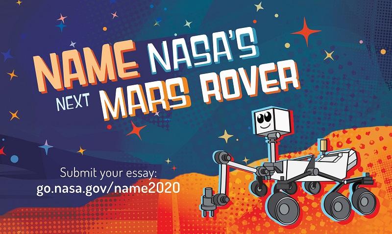 Nasa მარსის ახალი როვერისთვისსახელწოდების მინიჭების კონკურსს აცხადებს