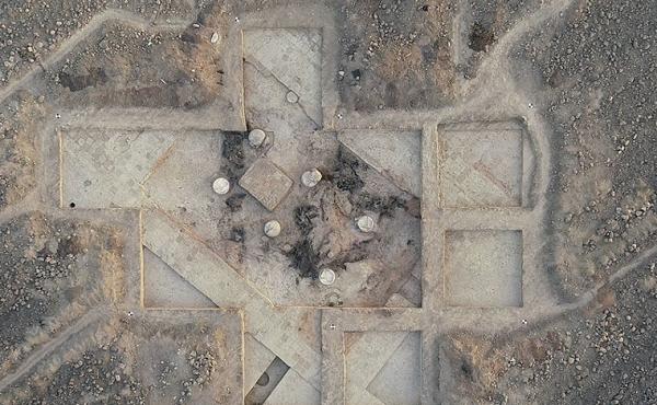 ალაზნის ველზე ძვ. წ. V-IV საუკუნეების სასახლის ნაშთები აღმოაჩინეს