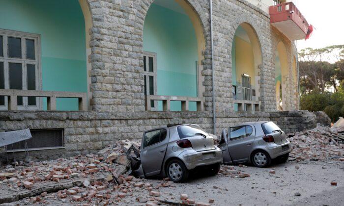 ალბანეთში უკანასკნელ 30 წელში ყველაზე ძლიერი მიწისძვრა მოხდა, არიან დაშავებულები | ფოტო
