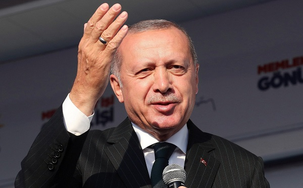 რეჯეფ თაიფ ერდოღანი გიორგი გახარიას პრემიერ-მინისტრობას ულოცავს