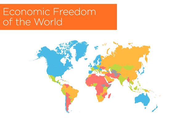 """""""მსოფლიო ეკონომიკური თავისუფლების"""" რეიტინგში საქართველოს პოზიცია გაუმჯობესდა"""
