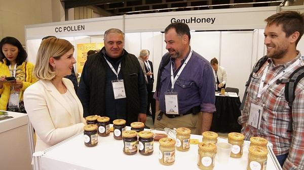 კანადაში, გამოფენაზე Apimondia 2019  ქართულმა თაფლმა მაღალი შეფასება დაიმსახურა