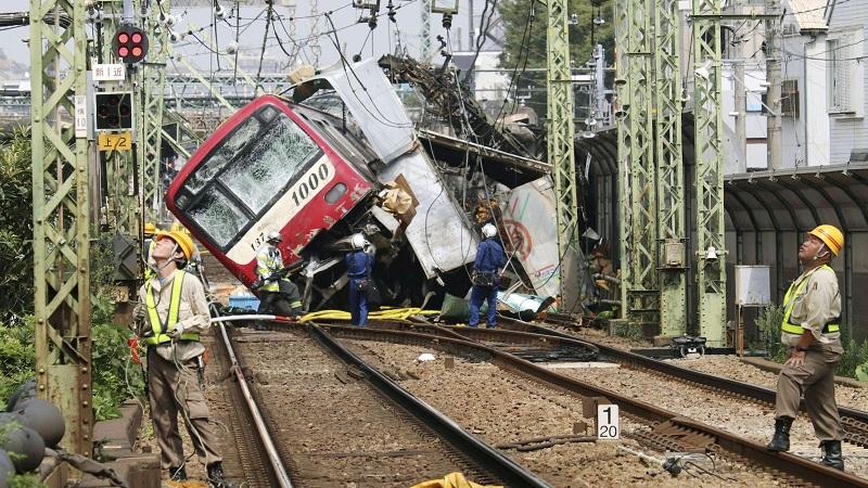 იაპონიაში მატარებლების შეჯახების შედეგად დაიღუპა 1, ხოლო დაშავდა 30 ადამიანი
