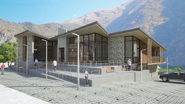 ფშავ-ხევსურეთის ეროვნულ პარკში ვიზიტორთა ცენტრი აშენდება